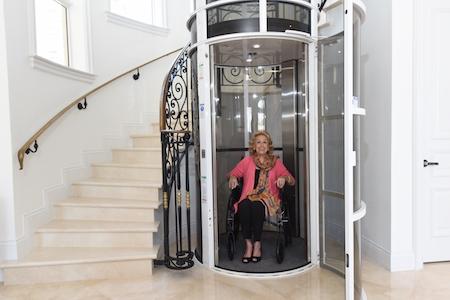 The Pneumatic Vacuum Home Elevator