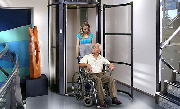 Stair lift home elevators chairlifts stairlifts oh ky in for Elevator home cost