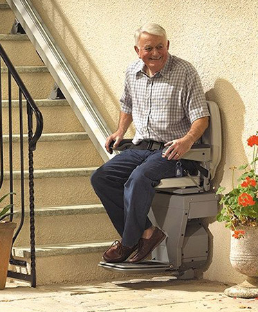 Stairlifts and stairlift rental in Lexington, KY, Richmond, IN, and Cincinnati, OH