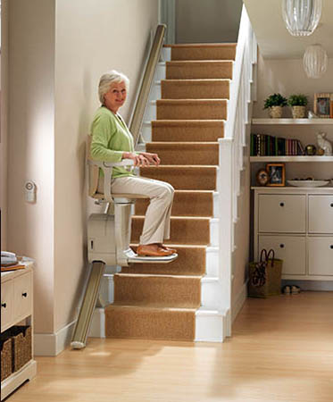 Chairlifts for Stairs in Indianapolis, Cincinnati, Columbus, OH, Louisville